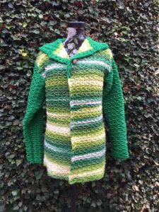 Groen vestje - € 50,--
